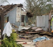 UNICEF Photo of Taunono community, which was completely destroyed